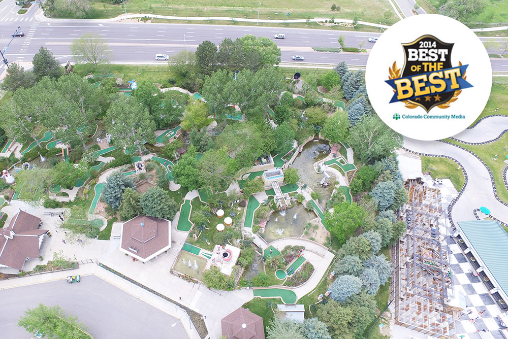 Aerial of park - best of the best